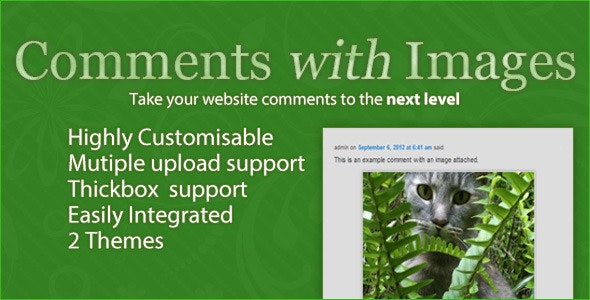 Comments with Images - CodeCanyon Item for Sale