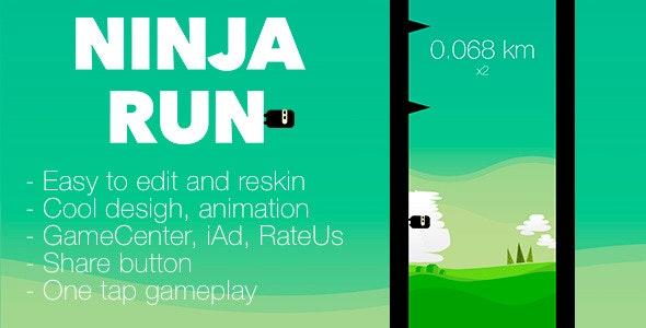 Ninja Run - CodeCanyon Item for Sale