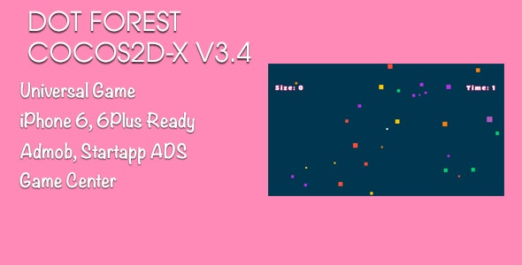 Dot Forest - Agar.io Cocos2d-x V3.4 - CodeCanyon Item for Sale