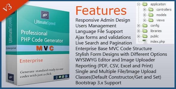 UltimateSpeed PHP Code Generator Enterprise by hezecom | CodeCanyon