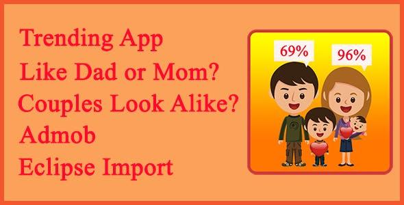 Like Dad Or Mom - Couples Look Alike