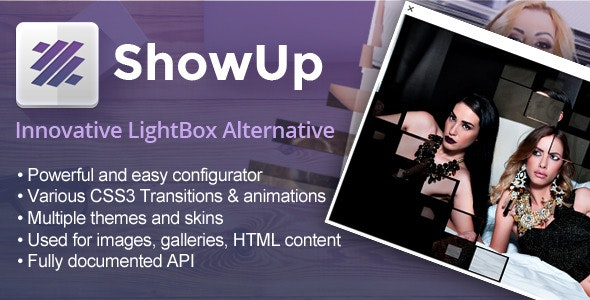 ShowUp - CodeCanyon Item for Sale