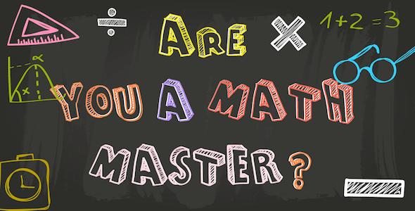 Math Master Cross-platform - CodeCanyon Item for Sale