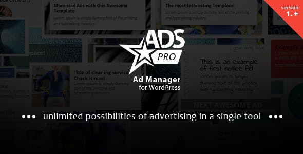ADS PRO - Wordpress Free Trial Add-on