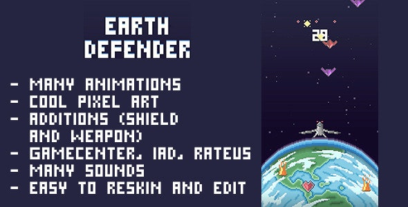 Earth Defender - CodeCanyon Item for Sale