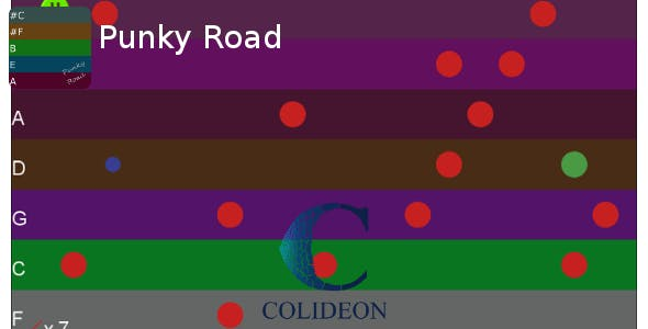 Punky Road - iPhone/iPad, Android, WP game.