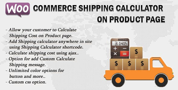 Shipping Calculator Plugins, Code & Scripts from CodeCanyon