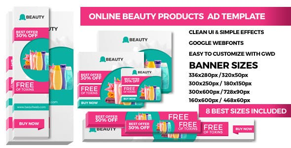 Product Promoting - GWD Ad Banners