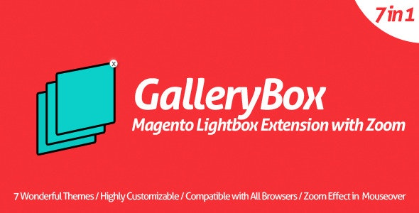 GalleryBox - Magento Lightbox Extension with Zoom - CodeCanyon Item for Sale