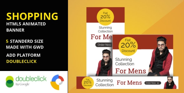 Shopping - Google Html Animated Banner 04 - CodeCanyon Item for Sale