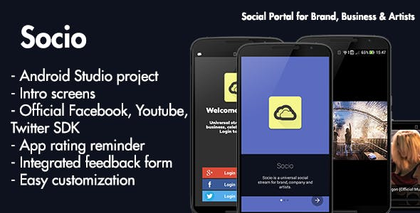 Socio: Social Portal for Band, Business and Artist