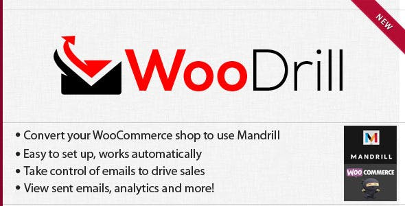 WooDrill - Mandrill For WooCommerce