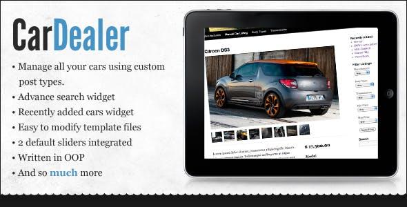 WordPress Car Dealer