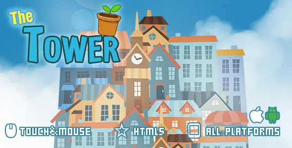 The Tower-Html5 Game - CodeCanyon Item for Sale
