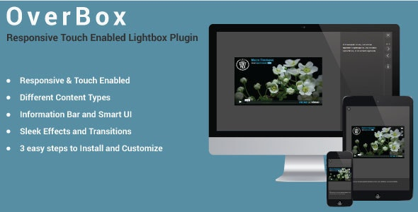 OverBox - Responsive Touch Enabled LightBox Plugin - CodeCanyon Item for Sale