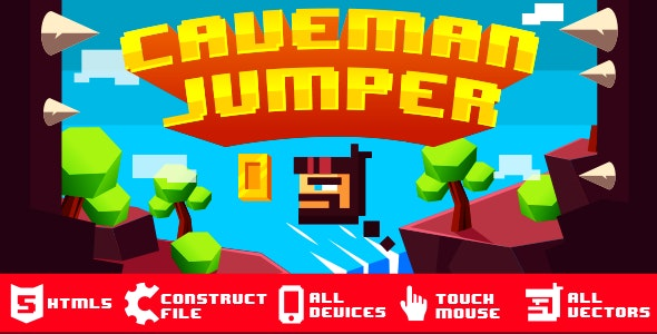 Caveman Jumper - CodeCanyon Item for Sale