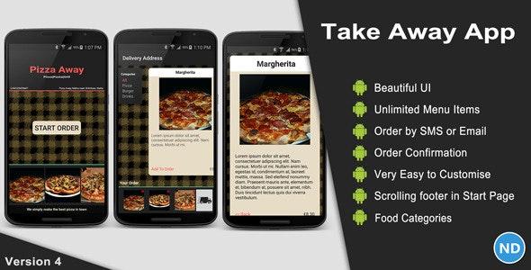 Take Away App - CodeCanyon Item for Sale