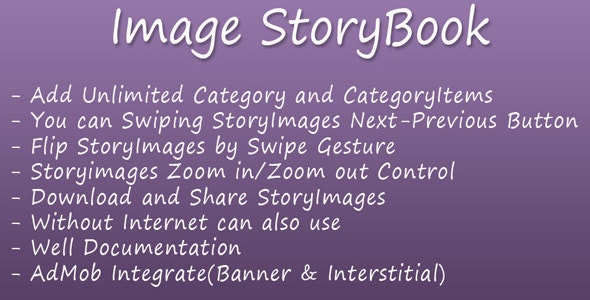 Image StoryBook - CodeCanyon Item for Sale