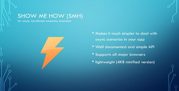 Show Me How - Component for Async Scenarios Execution - CodeCanyon Item for Sale
