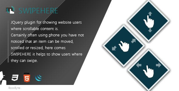 Swipehere - show where user can swipe