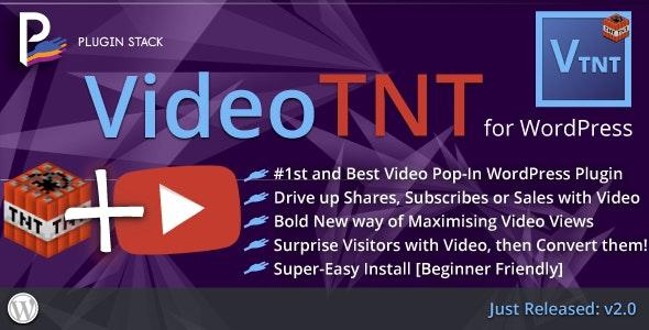 VideoTNT: WordPress In-Content Video Pop-In Plugin - CodeCanyon Item for Sale