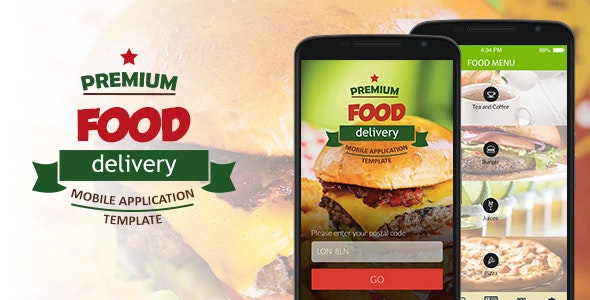 Food Delivery Mobile Application Template - CodeCanyon Item for Sale