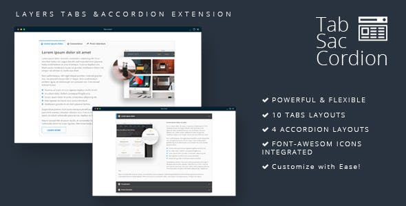 Tabsaccordion - Layers Tabs & Accordion Extension
