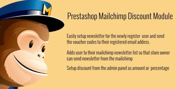 Prestashop Mailchimp Discount - CodeCanyon Item for Sale