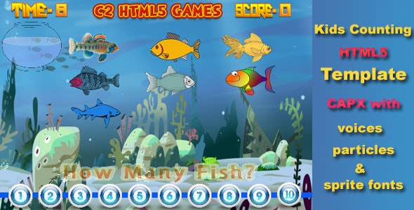C2 Kids Counting Game - CodeCanyon Item for Sale