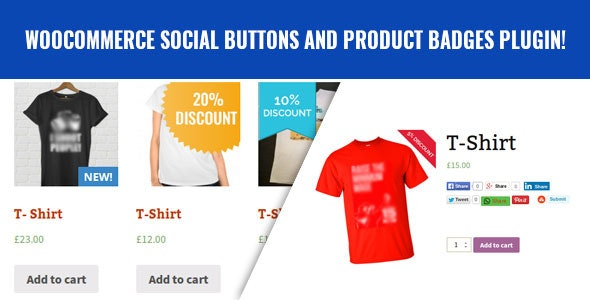 WooCommerce Social Buttons and Product Badges - CodeCanyon Item for Sale