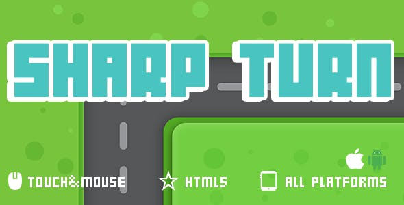 Sharp Turn- Html5 Game