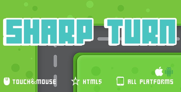 Sharp Turn- Html5 Game - CodeCanyon Item for Sale
