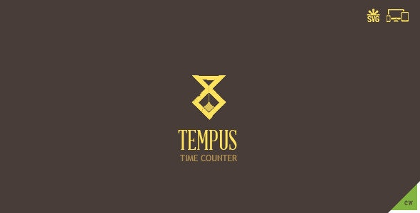 Tempus - SVG Animated Countdown - Mega Package - CodeCanyon Item for Sale