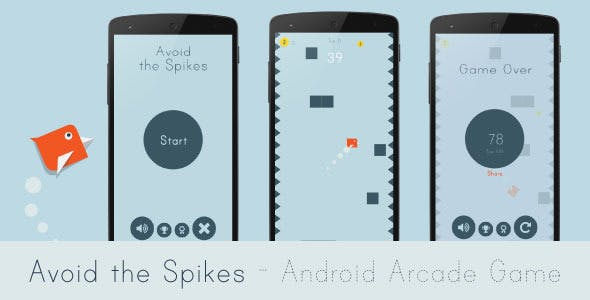 Avoid the Spikes - Android Arcade Game