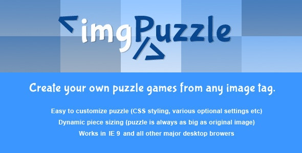 jQuery - imgPuzzle - CodeCanyon Item for Sale