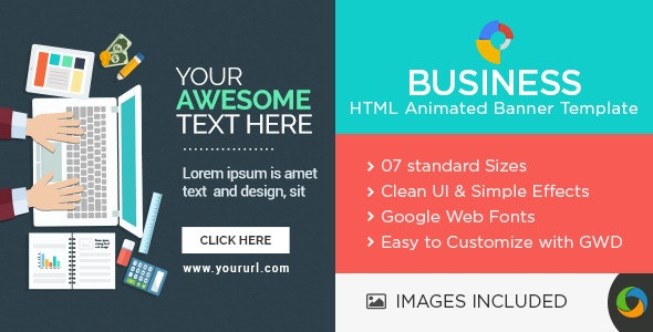 Multi Purpose HTML5 Banners - CodeCanyon Item for Sale