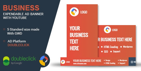 Business - Google HTML Animated Banner 06 - CodeCanyon Item for Sale
