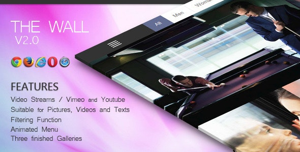 The Wall V. 2.1 - CodeCanyon Item for Sale
