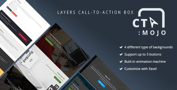 CTA Mojo - Layers Call-To-Action Box - CodeCanyon Item for Sale