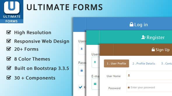 Ultimate Bootstrap Forms - CodeCanyon Item for Sale