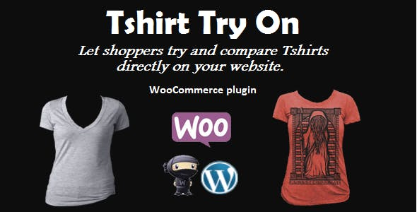 Tshirt Virtual Try On for WooCommerce
