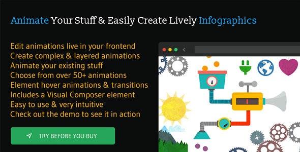 Animatic - Advanced WordPress Frontend Animator - CodeCanyon Item for Sale