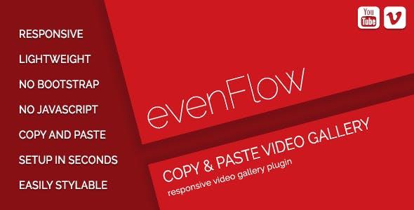 evenFlow - YouTube & Vimeo Video Gallery