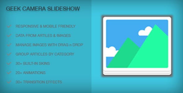 Geek Camera Slideshow Module