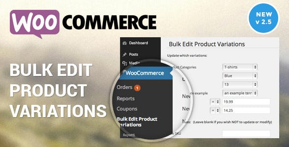 Woocommerce Bulk Edit Variable Products & Prices        Nulled