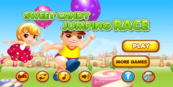 Candy Jump IOS Game V 2.0 (64-bit) - CodeCanyon Item for Sale