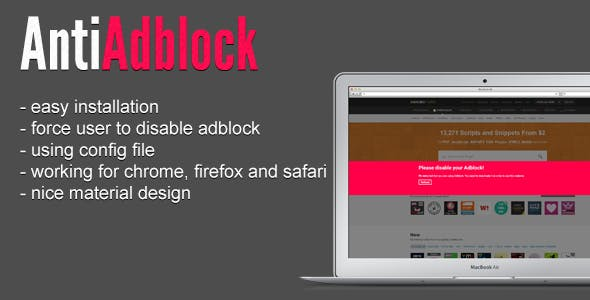 Adblock Plugins, Code & Scripts from CodeCanyon