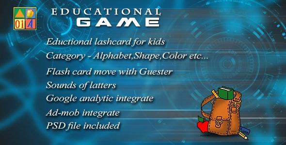 KidsEducational-Game - CodeCanyon Item for Sale