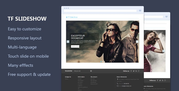 TF Slide Show - Responsive Prestashop Module  - CodeCanyon Item for Sale