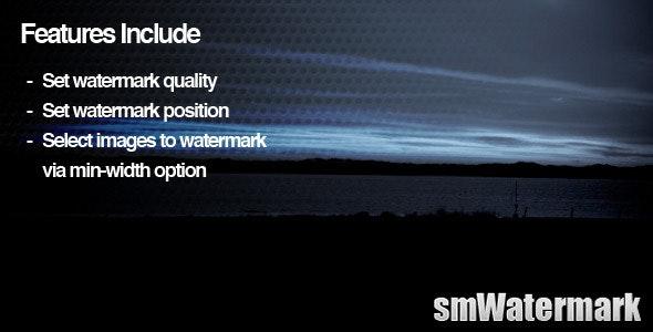 smWatermark WordPress Plugin - CodeCanyon Item for Sale